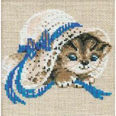 Котёнок в шляпе (748)