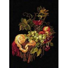 Набор для вышивания крестом Риолис Натюрморт с апельсином (828)