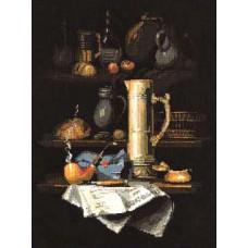 Натюрморт с трубкой (947)
