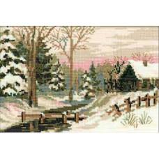 Зимний пейзаж (919)