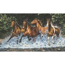 Скачущие лошади (35214)