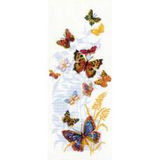 Набор для вышивания крестом Риолис Бабочки России (902)