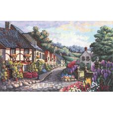 Набор для вышивания крестом Памятный переулок (03817)