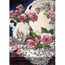 Кружево и розы (06929)