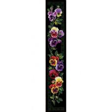 Набор для вышивания крестом Риолис Анютины глазки (100/011)