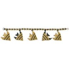 Браслет с золотыми рыбками (Б-050)