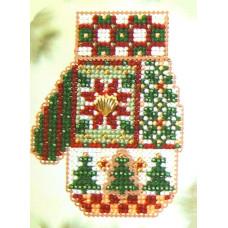 Набор для вышивания Mill Hill  Рождественская варежка (CM49)