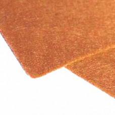 Фетр (войлок) листовой, 30,48 х 45,71, оранжевый
