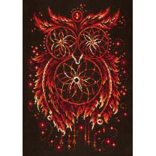 Набор для вышивания крестиком Чудесная игла Пламя души (88-11)