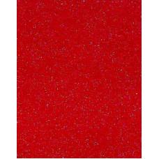 Фетр (войлок) листовой, 30 х 23, красный с блёстками (K44Y/912-064)