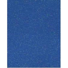 Фетр (войлок) листовой, 30 х 23, синий с блёстками (K44Y/912 678)