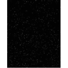 Фетр (войлок) листовой, 30 х 23, чёрный с блёстками (K44Y/912-937)