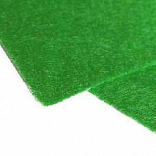 Фетр (войлок) листовой, 31 х 22,5, зелёный яркий - Pirate Green (476)