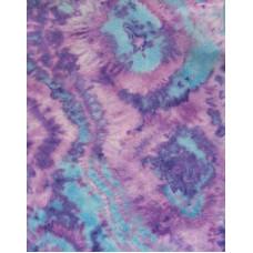 Фетр (войлок) листовой с узорами (пятнистый), 30 х 23, лилово-голубой (30240)
