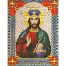 Набор для вышивания крестиком Чарівна мить Икона Господа Иисуса Христа (467)
