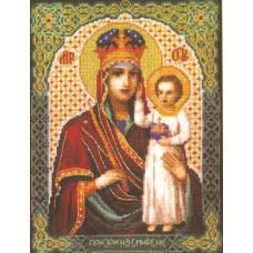 Набор для вышивания крестиком Чарівна мить Образ Пресвятой Богородицы Призри на смирение (523)