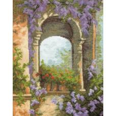 Набор для вышивания крестиком Чарівна мить Цветочная арка (457)