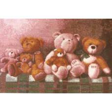Набор для вышивания крестиком Чарівна мить Любимые игрушки (526)