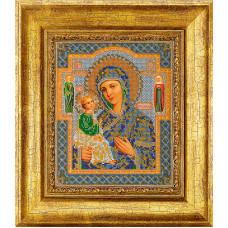 Набор для вышивания бисером Икона Богородица Иерусалимская (В-164)