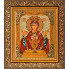 Набор для вышивания бисером Икона Богородица Неупиваемая Чаша (В-165)