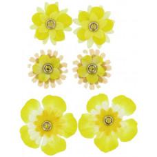 Набор брадсов Жёлтые цветы (256297)