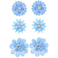 Набор брадсов Голубые цветы (258228)
