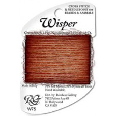 W75 - Brown Wisper Jarn