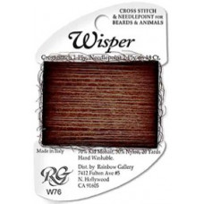 W76 - Dark Brown Wisper Yarn