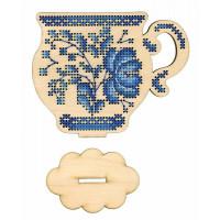 Набор для вышивания крестом М.П.Cтудия Время пить чай (О-011)