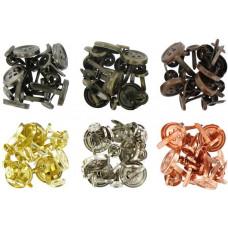 Набор брадсов Пуговицы металлик (287227)
