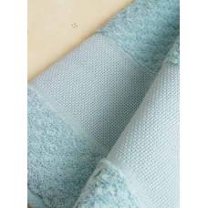 Махровое полотенце Попкорн, голубое (RN114076/4187)