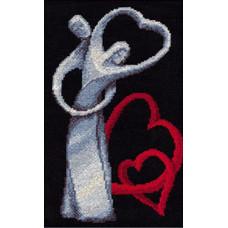 Набор для вышивания крестиком Золотое руно Любовь (ЛЖ-003)