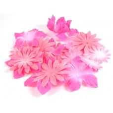Шёлковые цветы Розовые (SF01-PNK/980318)