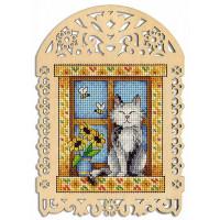 Набор для вышивания крестом М.П.Cтудия Летний день (О-004)