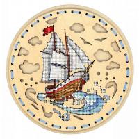 Набор для вышивания крестом М.П.Cтудия Навстречу ветру (О-022)