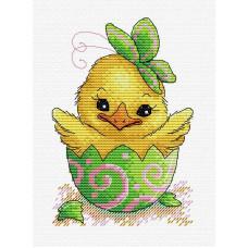 Набор для вышивания крестом М.П.Cтудия Пасхальный цыпленок (М-229)