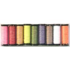 Набор металлизированных нитей Kreinik Candy Color Assortment (B4009)