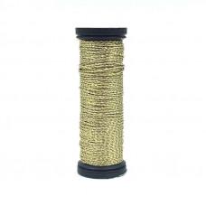 Металлизированная нить Kreinik Metallic Cable, Gold  (002P)