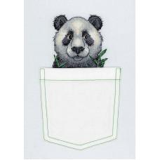 Набор для вышивания крестом М.П.Cтудия Веселая панда (В-241)