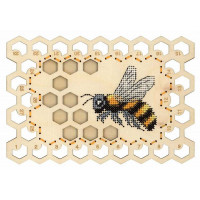 Набор для вышивания крестом М.П.Cтудия Органайзер «Пчела» (О-025)