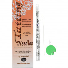 Игла для фриволите Tatting Needle For Thread Extra Fine#8 (N11)