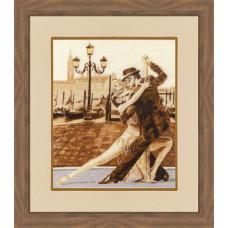 Набор для вышивания крестиком Золотое руно Венецианское танго (ГТ-044)