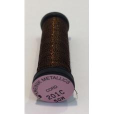 Металлизированная нить Kreinik cord 201C