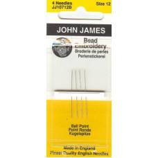 Иглы John James для бисера # 12 (JJ107 12B)