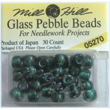 Бисер Glass Pebble Beads