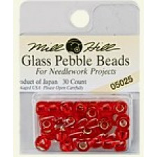 Glass Pebble Beads