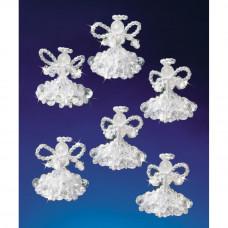 Набор для создания елочных украшений Кристальные ангелы (BOK 5538)