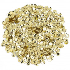 Пайетки Darice Gold Cupped Sequins 5mm 800/Pkg (1004322)