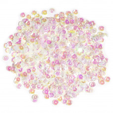 Пайетки Cousin Crystal Iridescent, Cupped Sequins 5mm 800/Pkg (SQU40000 864)