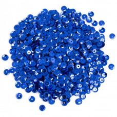 Пайетки синие Cousin Cupped Sequins 5mm 800/Pkg (SQU40000 873)